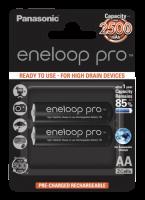 1x2 Panasonic Eneloop Pro