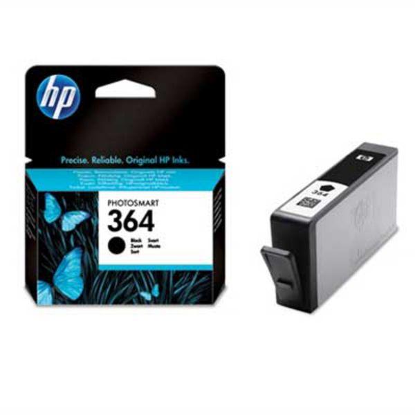HP Tintenpatrone Nr. 364 CB316EE Schwarz (ca. 250 Seiten)