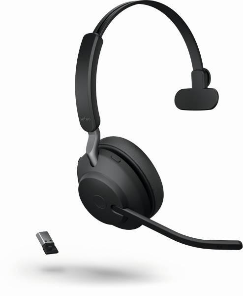 JABRA Evolve2 65 monaural UC USB-A Bluetooth black