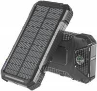 4smarts Solar-Powerbank Rugged TitanPack SLIM 20.000mAh, sw