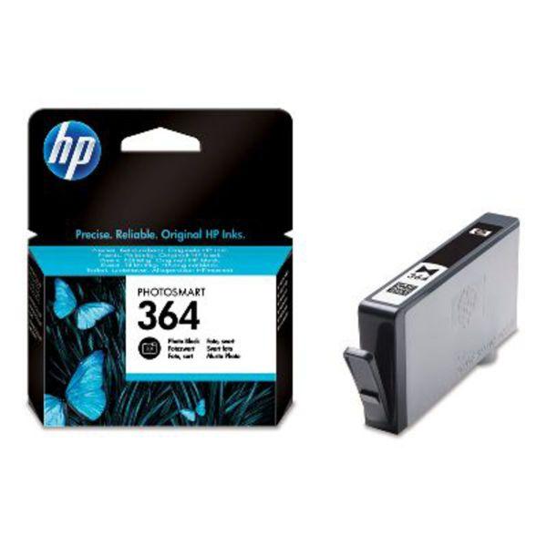 HP Tintenpatrone Nr. 364 CB317 Foto-Schwarz (ca. 130 Seiten)